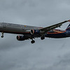 Aeroflot (Manchester United Livery) - Airbus A321-211 (VP-BTL) - Heathrow Airport (March 2020)