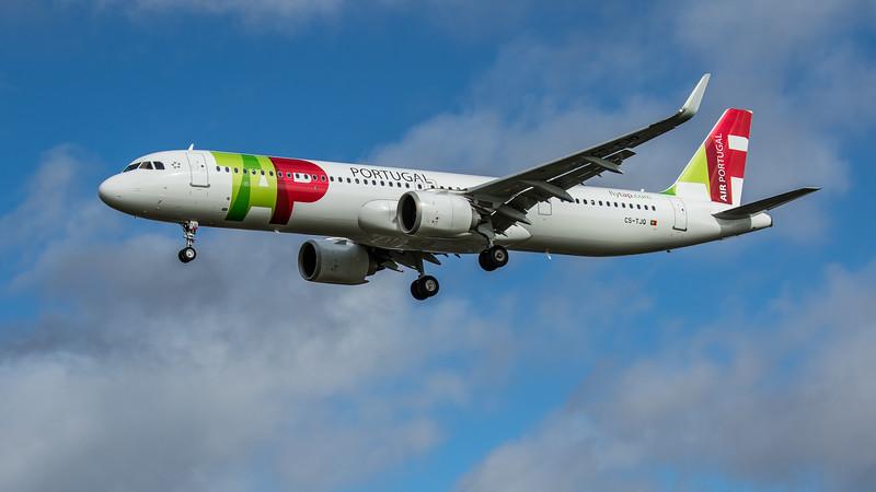 TAP Air Portugal - Airbus A321-251NX (CS-TJQ) - Heathrow Airport (February 2020)