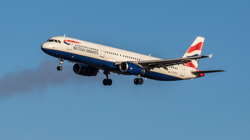British Airways - Airbus A321-231 (G-EUXL) - Edinburgh Airport (February 2020)