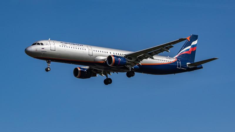 Aeroflot - Airbus A321-211 (VQ-BEA) - Heathrow Airport (April 2021)