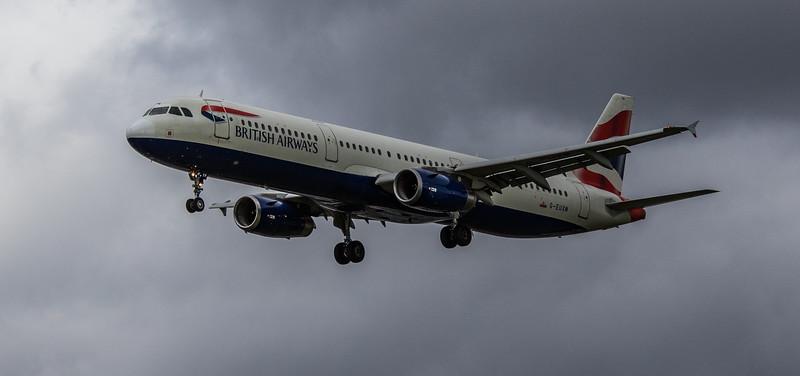 British Airways - Airbus A321-231 (G-EUXM) - Heathrow Airport (March 2019)