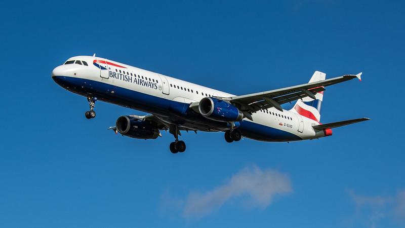 British Airways - Airbus A321-231 (G-EUXD) - Heathrow Airport (February 2020)