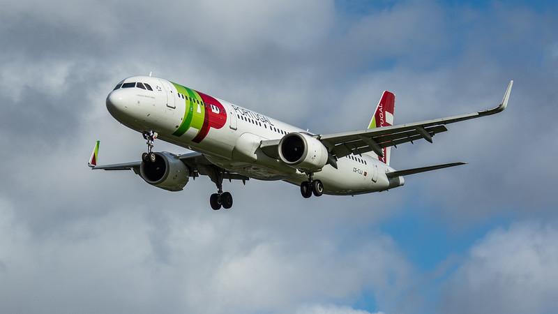 TAP Air Portugal - Airbus A321-251N (CS-TJJ) - Heathrow Airport (February 2020)