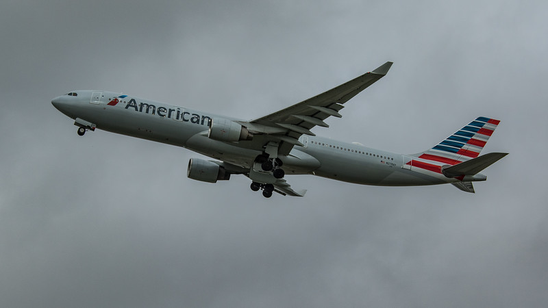 American Airlines - Airbus A330-323 (N278AY) - Heathrow Airport (March 2020)