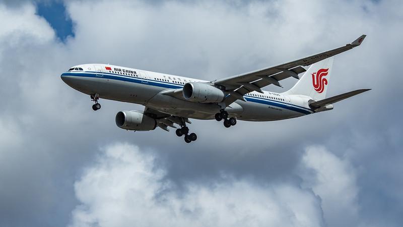 Air China - Airbus A330-243 (B-5925) - Heathrow Airport (June 2020)