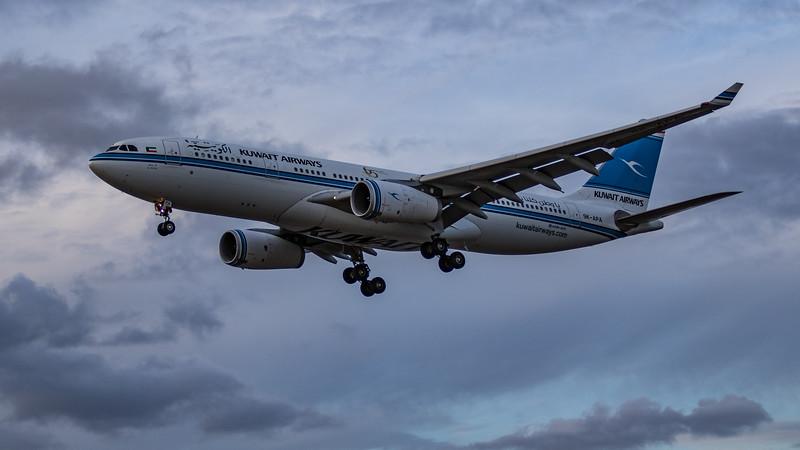 Kuwait Airways - Airbus A330-243 (9K-APA) - Heathrow Airport (August 2020)