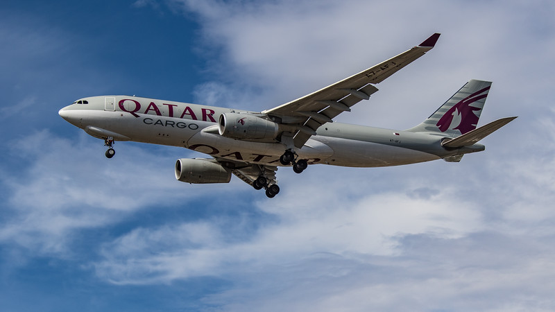 Qatar Cargo - Airbus A330-243F (A7-AFJ) - Heathrow Airport (July 2020)