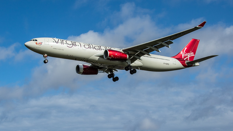 Virgin Atlantic - Airbus A330-343 (G-VUFO) - Heathrow Airport (February 2020)