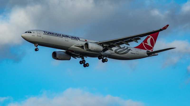 Turkish Airlines - Airbus A330-343 (TC-JNH) - Heathrow Airport (March 2020)