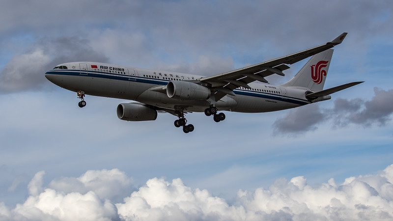 Air China - Airbus A330-243 (B-6092) - Heathrow Airport (August 2020)