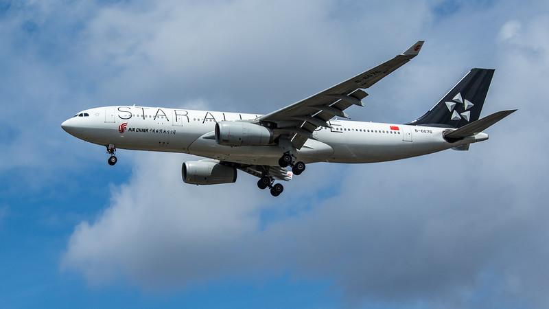 "Air China ""Star Alliance Livery"" - Airbus A330-243 (B-6076) - Heathrow Airport (June 2020)"