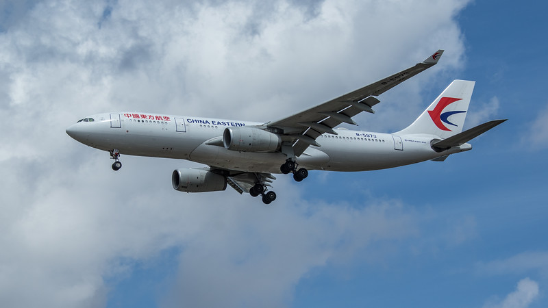 China Eastern Airlines - Airbus A330-243 (B-5973) - Heathrow Airport (June 2020)