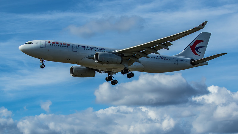 China Eastern Airlines - Airbus A330-232 (B-6545) - Heathrow Airport (June 2020)