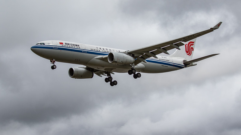 Air China - Airbus A330-243 (B-6117) - Heathrow Airport (June 2020)
