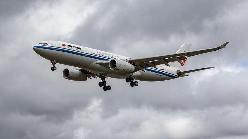 Air China - Airbus A330-243 (B-6533) - Heathrow Airport (June 2020)