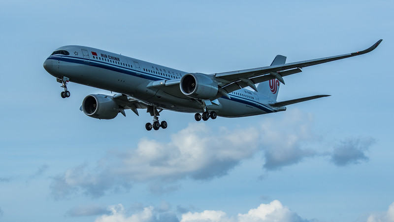Air China - Airbus A350-941 (B-1086) - Heathrow Airport (June 2020)