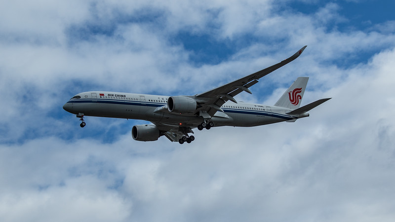 Air China - Airbus A350-941 (B-308C) - Heathrow Airport (June 2020)
