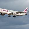 Qatar Airways - Airbus A350-941 (A7-ALH) - Edinburgh Airport (February 2020)