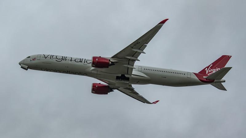 Virgin Atlantic - Airbus A350-1041 (G-VPRD) - Heathrow Airport (March 2020)