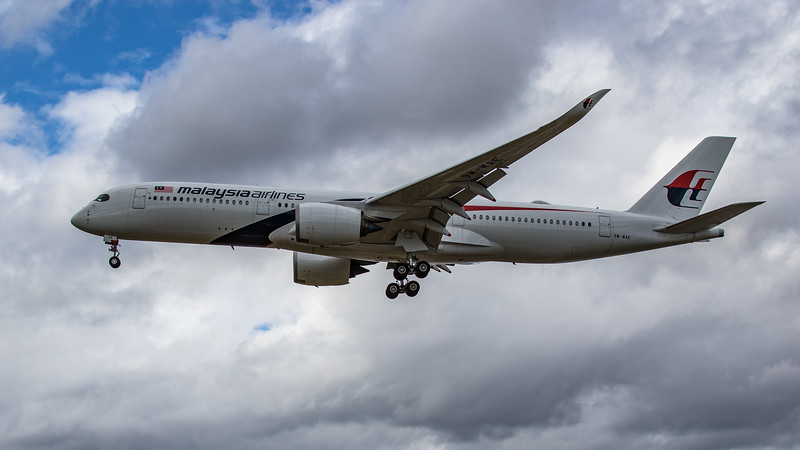 Malaysia Airlines - Airbus A350-941 (9M-MAE) - Heathrow Airport (June 2020)