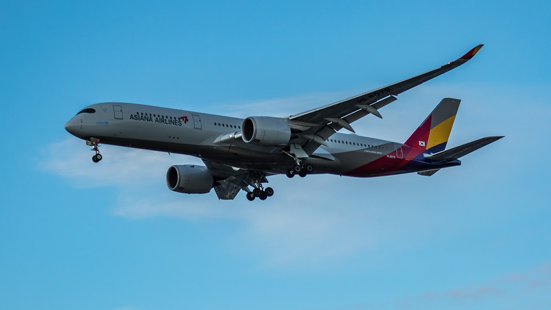 Asiana Airlines - Airbus A350-941 (HL8079) - Heathrow Airport (March 2020)