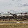 Qatar Airways - Airbus A350-941 (A7-ALR) - Edinburgh Airport (March 2020)