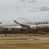 Qatar Airways - Airbus A350-941 (A7-ALR) - Edinburgh Airport (March 2020)