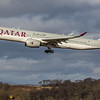 Qatar Airways - Airbus A350-941 (A7-ALU) - Edinburgh Airport (February 2020)