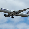 "Qatar Airways ""Oneworld Livery"" - Airbus A350-1041 (A7-ANE) - Heathrow Airport (June 2020)"