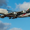 Emirates (Expo 2020 - Mobility Livery)  - Airbus A380-861 (A6-EOT) - Heathrow Airport (March 2020)