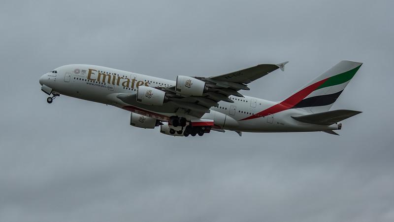 Emirates - Airbus A380-861 (A6-EUC) - Heathrow Airport (March 2020)