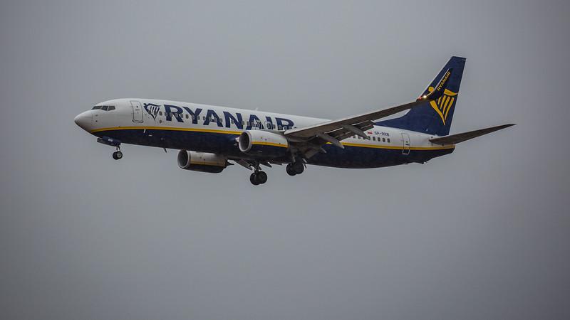 Ryanair - Boeing 737-8AS (SP-RKP) - Edinburgh Airport (February 2020)