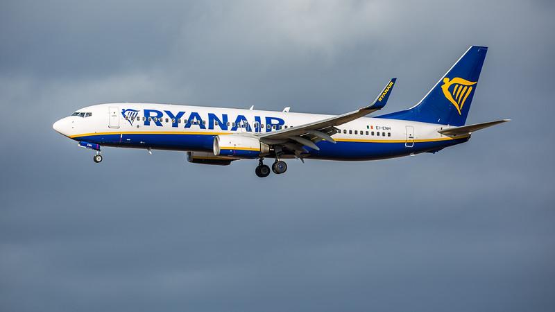 Ryanair - Boeing 737-8AS (EI-ENH) - Edinburgh Airport (February 2020)