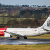 Norwegian Airways (Gustav Vigeland Livery)  - Boeing 737-8JP (SE-RPL) - Edinburgh Airport (February 2020)