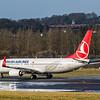 Turkish Airlines - Boeing 737-8F2 (TC-JVO) - Edinburgh Airport (February 2020)