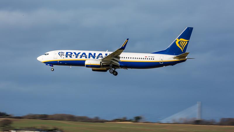 Ryanair - Boeing 737-8AS (SP-RSH) - Edinburgh Airport (February 2020)