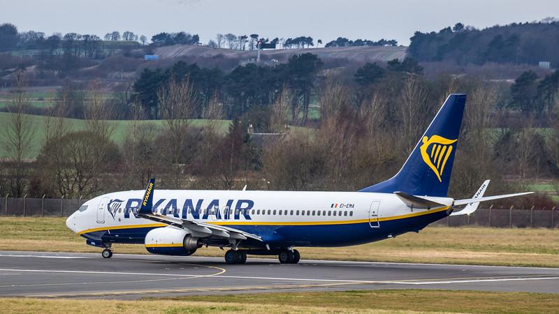 Ryanair - Boeing 737-8AS (EI-EMA) - Edinburgh Airport (January 2020)