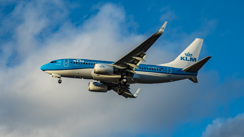 KLM - Boeing 737-7K2 (PH-BGN) - Heathrow Airport (March 2020)