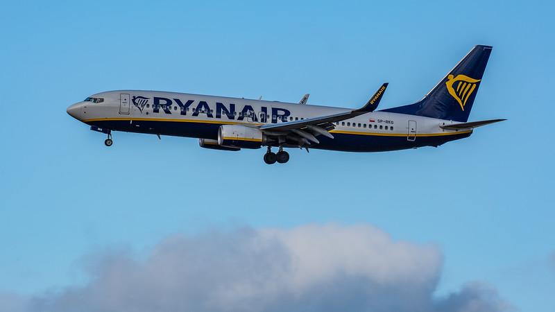 Ryanair - Boeing 737-8AS (SP-RKG) - Edinburgh Airport (February 2020)