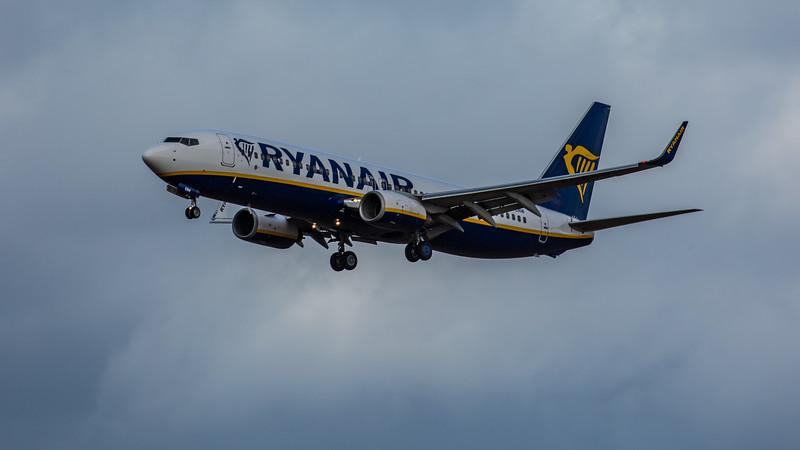 Ryanair - Boeing 737-8AS (EI-ENW) - Edinburgh Airport (February 2020)
