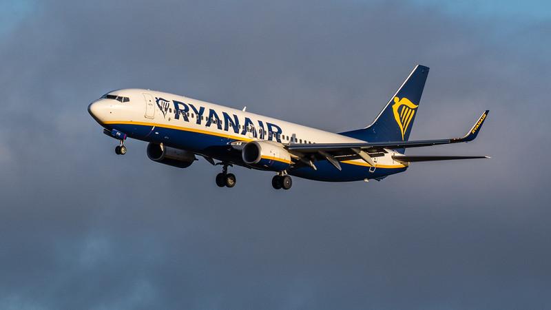 Ryanair - Boeing 737-8AS (EI-FTY) - Edinburgh Airport (February 2020)