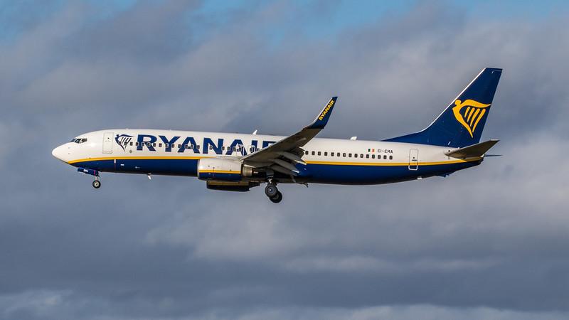 Ryanair - Boeing 737-8AS (EI-EMA) - Edinburgh Airport (February 2020)