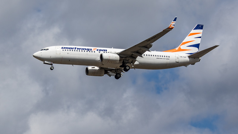 Smartwings - Boeing 737-8Q8 (OK-TVY) - Heathrow Airport (August 2020)