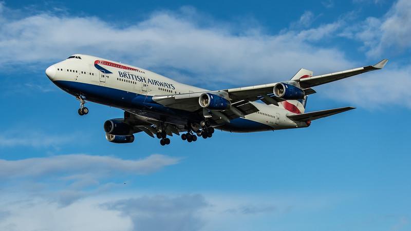 British Airways - Boeing 747-436 (G-CIVJ) - Heathrow Airport (February 2020)