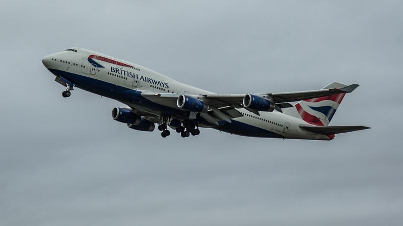 British Airways - Boeing 747-436 (G-CIVN) - Heathrow Airport (March 2020)