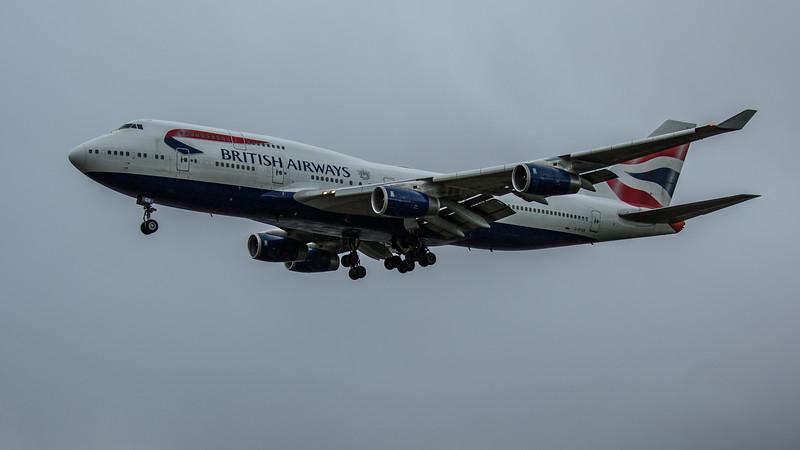 British Airways - Boeing 747-436 (G-BYGB) - Heathrow Airport (February 2020)