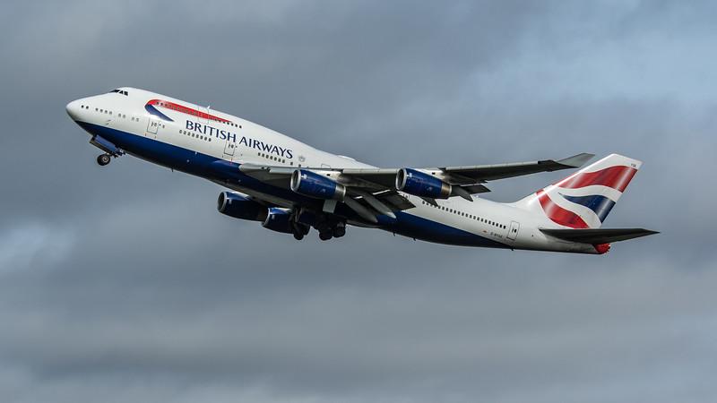 British Airways - Boeing 747-436 (G-BYGE) - Heathrow Airport (March 2020)