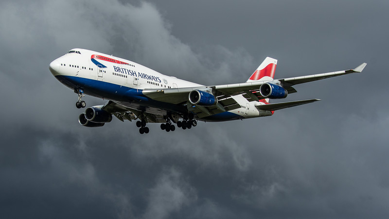 British Airways - Boeing 747-436 (G-CIVX) - Heathrow Airport (February 2020)