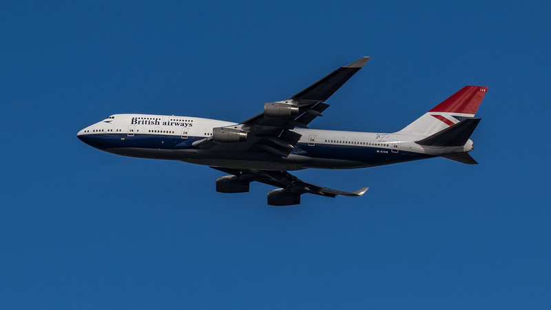 British Airways (Negus Retro Livery)  - Boeing 747-436 (G-CIVB) - Heathrow Airport (March 2020)