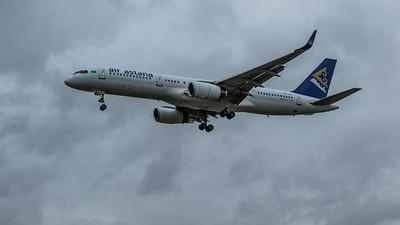Air Astana - Boeing 757-2G5 (P4-FAS) - Heathrow Airport (March 2020)